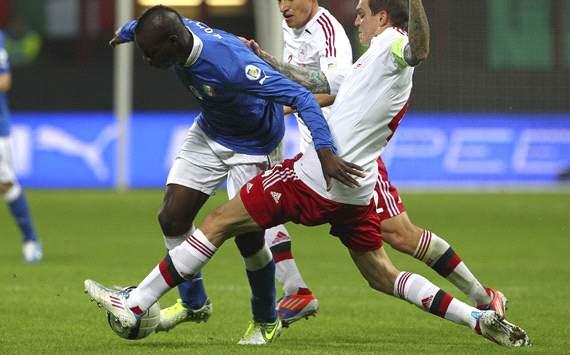 Mario Balotelli - Italy-Denmark - WCQ 2014