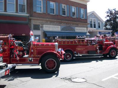 kingston fire engines