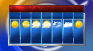 Stock Video: HD 7 day weather forecast ~ #396809 | Pond5