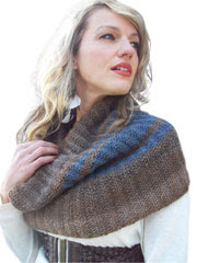 Racy Ribbed Cowl Knit Pattern