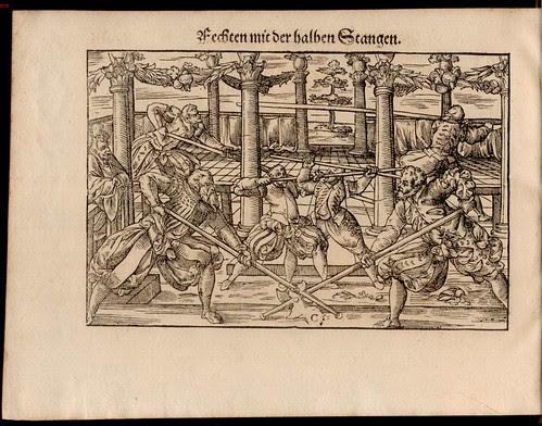 Joachim Meyer - Gründtliche Beschreibung des Fechtens 1570i