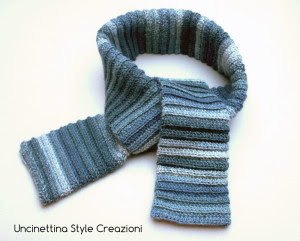 sciarpa pura lana unisex