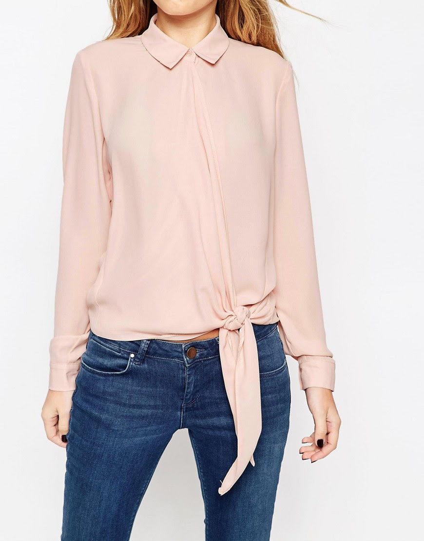 Image 3 of ASOS Ultimate Wrap Front Blouse