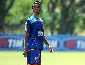 Leo Moura no treino do Flamengo (Foto: Alexandre Vidal / Fla Imagem)