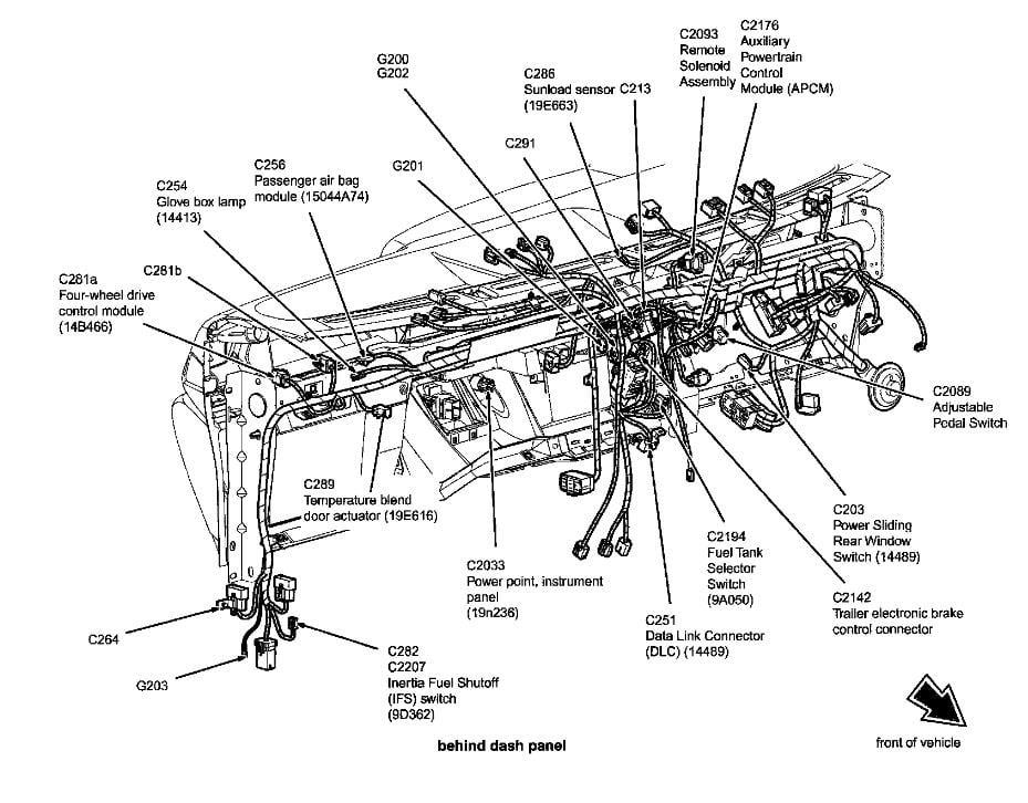 2004 Ford F350 4 Wheel Drive Wiring Diagram