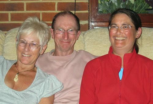 Tim, Ruth and me