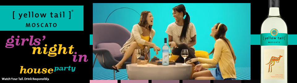 [yellow tail] Moscato Girls' Night In House Party