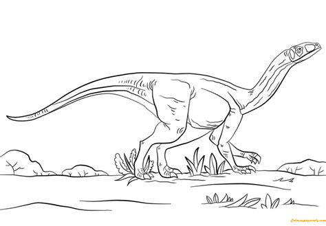 ausmalbilder dinosaurier velociraptor - kostenlose