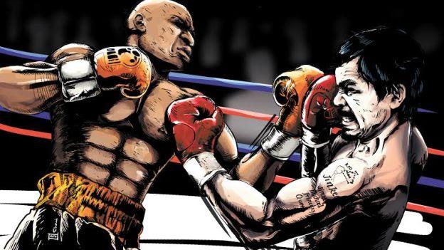 Image result for boxeador golpeado cartoon