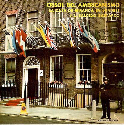 Resultado de imagen para CASA DE MIRANDA EN LONDRES