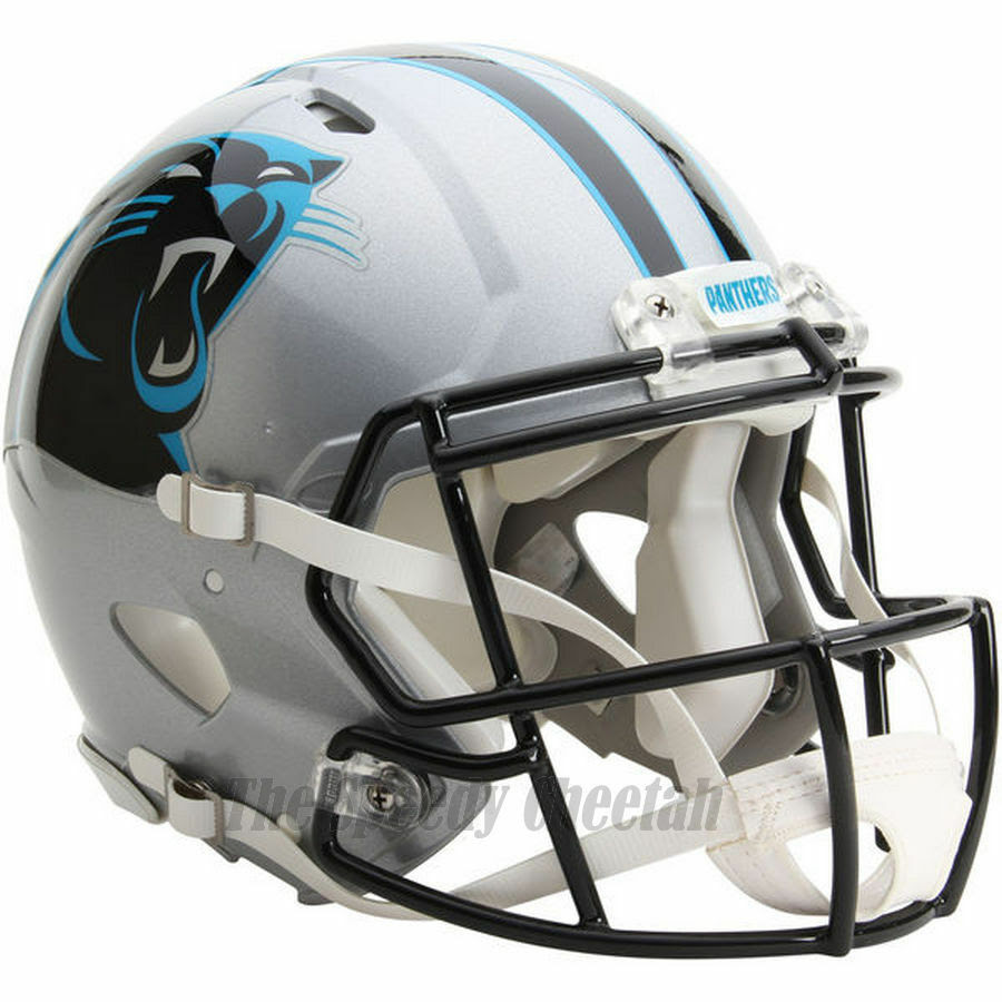 CAROLINA PANTHERS RIDDELL NFL FULL SIZE AUTHENTIC SPEED FOOTBALL HELMET  eBay