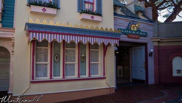 Disneyland Resort, Disneyland, Main Street U.S.A., Lockers