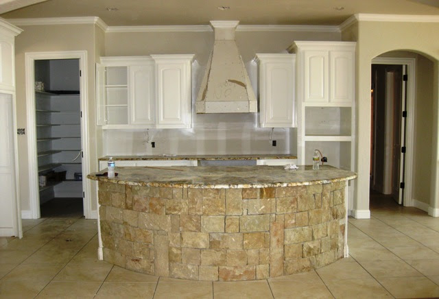 Large Kitchen Island with Seating