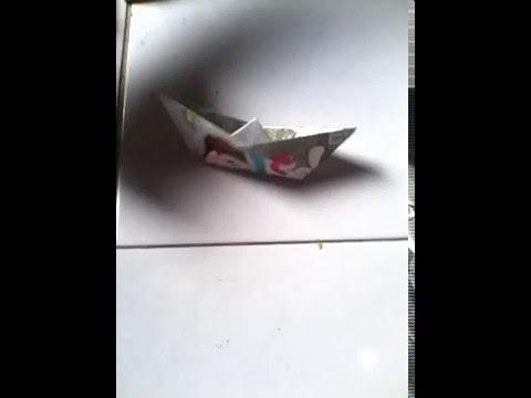Cara Praktis Mengajari Anak Membuat Kapal Mainan dari Kertas