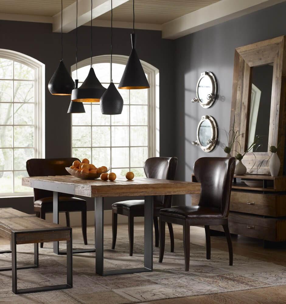 9 Reclaimed Wood Dining Table Design Ideas - Interioridea.net