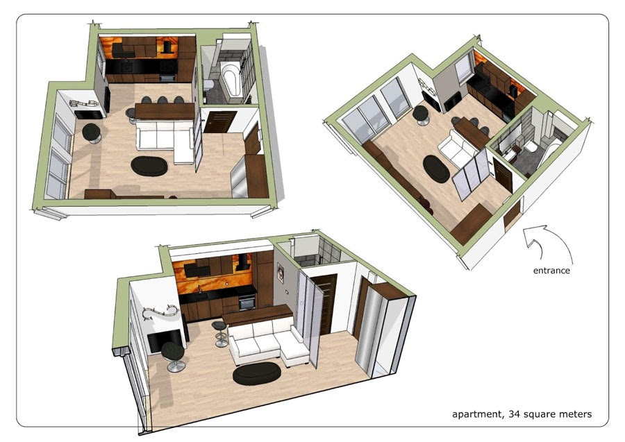 floor plan for small