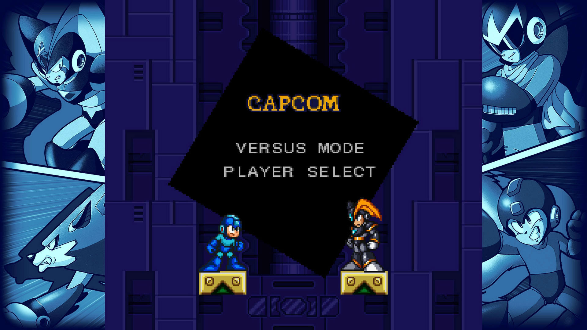 Here's how to unlock the rad fighting game hidden inside of Mega Man 7 screenshot