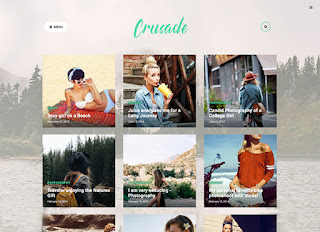 Crusate Blogger Template