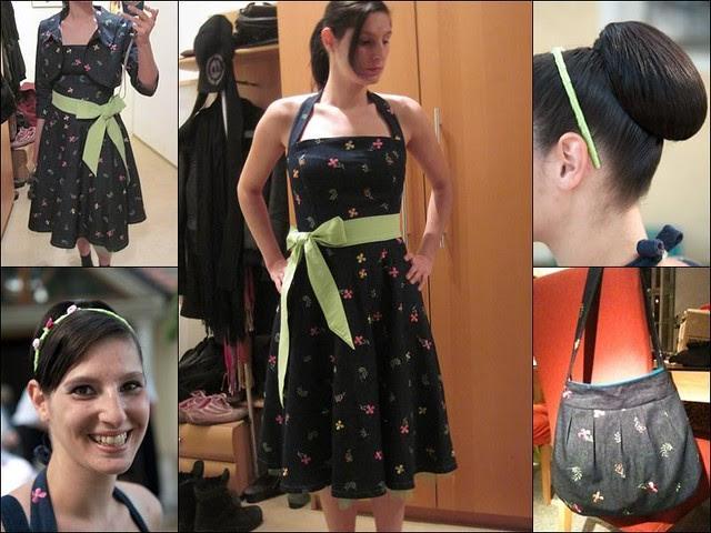 Petticoat Kleid Tasche