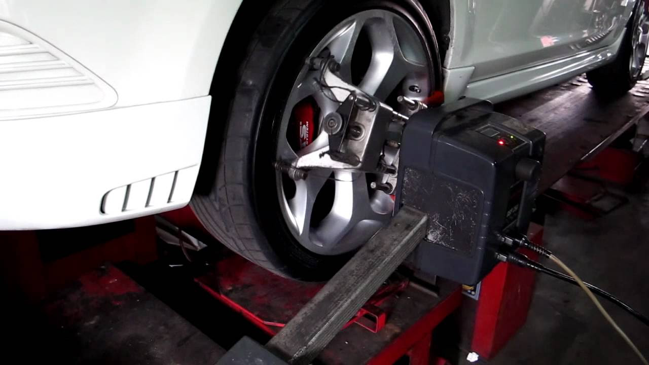 Wheel Alignment For Ford Focus 2 Mov Youtube