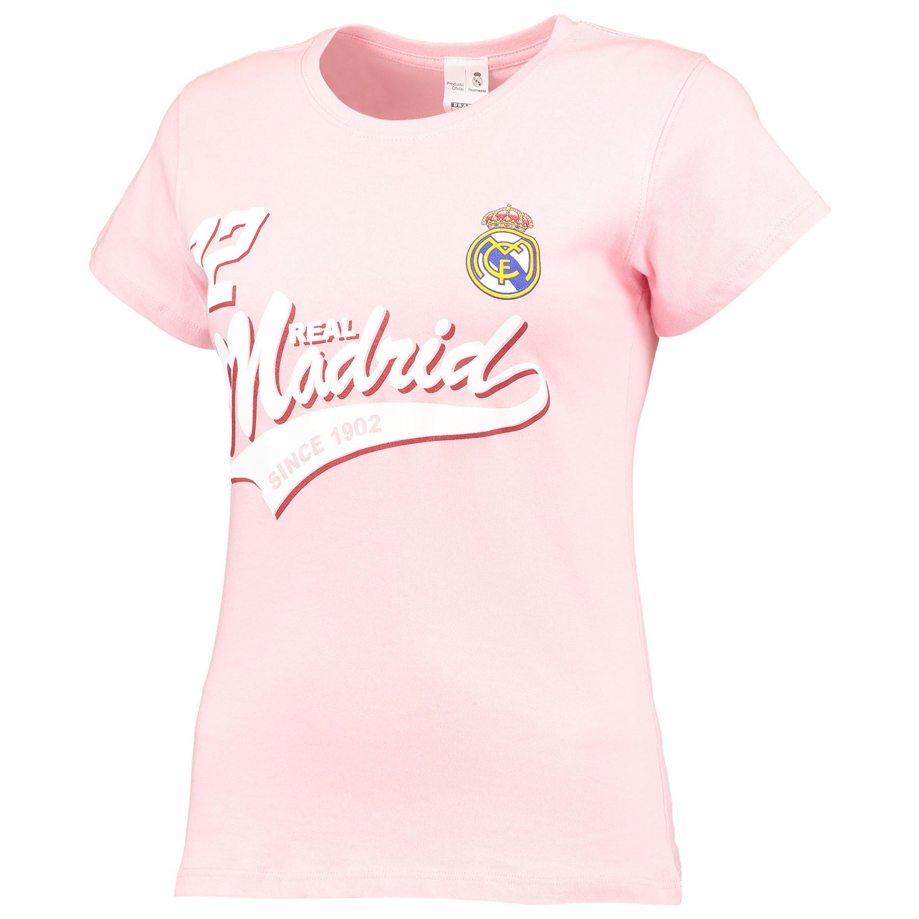 Camiseta Real Madrid - Rosa / Mujer