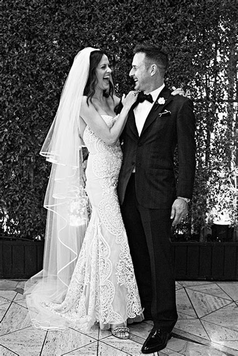 David Arquette and Christina McLarty share first wedding