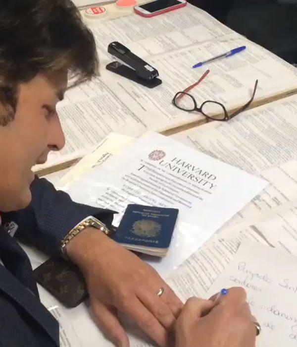 Dr. Rey escreve carta no Tribunal Regional Eleitoral / Reprodução/Facebook