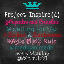 Artsy Chicks Rule - Project Inspire{d} Linky Party