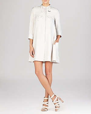 BCBGMAXAZRIA Emilee Cargo Pocket Shirtdress
