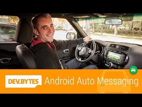Enable your messaging app for Android Auto