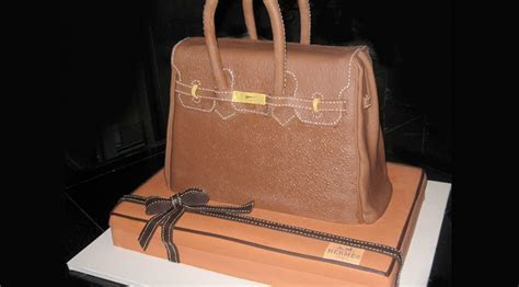 Custom 3 D Sculpted Cakes   Brown Handbags   Sculpted