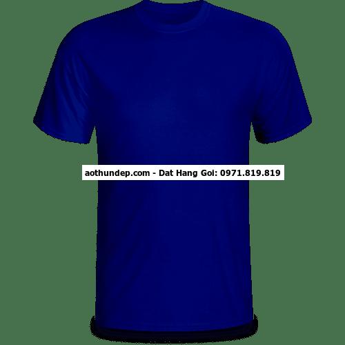 Áo cổ tròn màu xanh bích – DQ FASHION