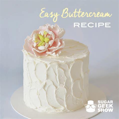 Easy Buttercream   Artisan Cake Company