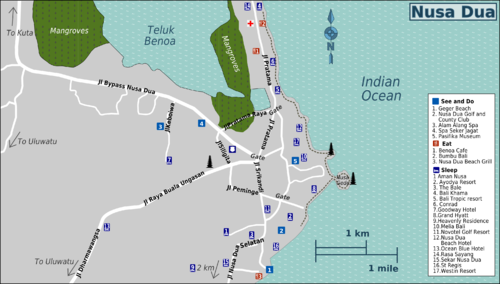 Location Map of Alam Alang Bali Spa Nusa Dua Bali,Alam Alang Bali Spa Location Map,Alam Alang Bali Spa accommodation attractions hotels resorts map