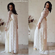 Wedding Dress Bohemian Gown Bridal Boho Bridal Gown