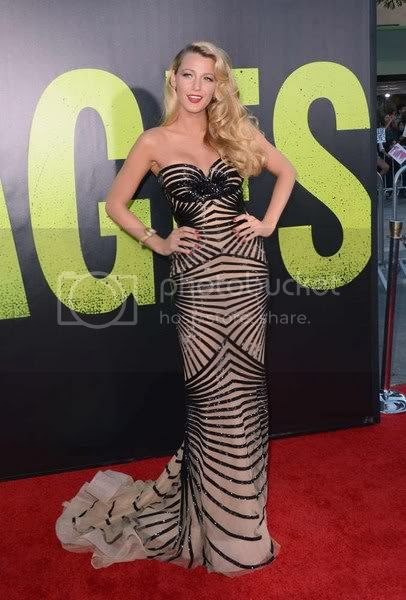 Blake Lively Savages Premiere Fashion Style