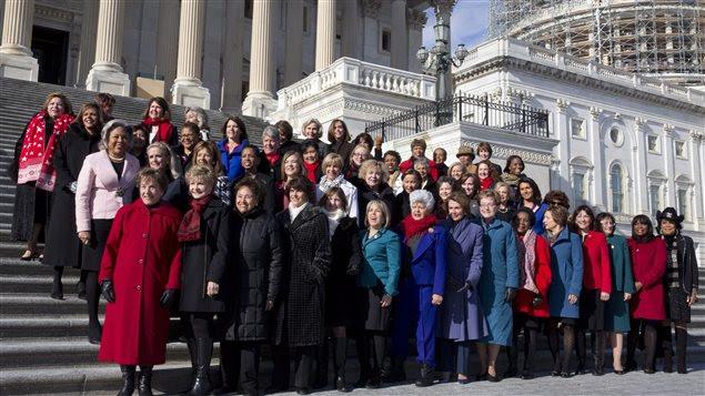 Le caucus féminin du Parti démocrate à la Chambre des représentants