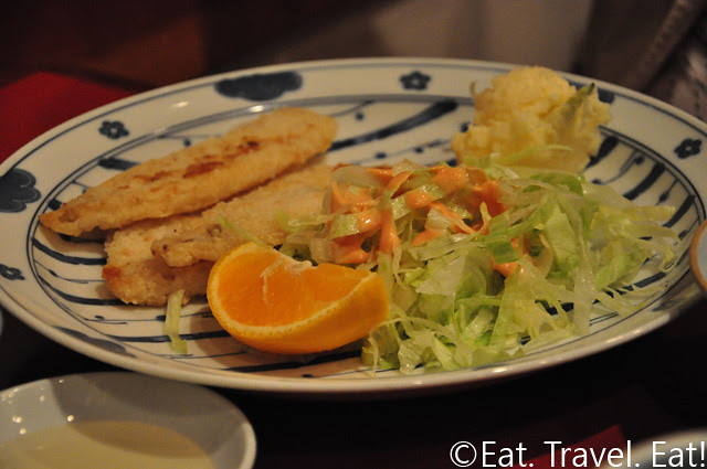 Sauteed Cod (Red Snapper Filet)