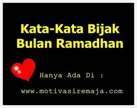 kata kata bijak bulan ramadhan