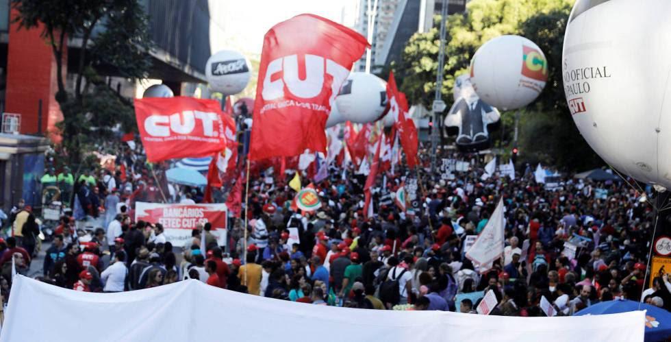Resultado de imagem para greve geral no brasil