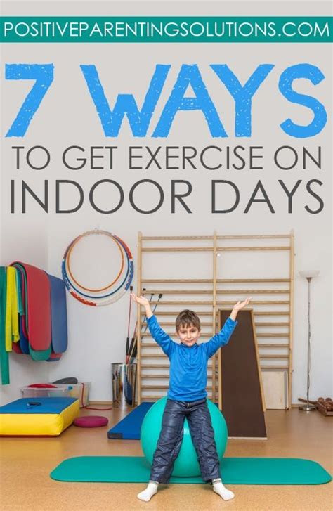 fun ways   exercise  indoor days positive