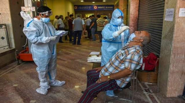 कोरोना वायरस की वजह से 24 घंटों में 1209 की गई जान, रिकॉर्ड 96551 नए केस भी आए