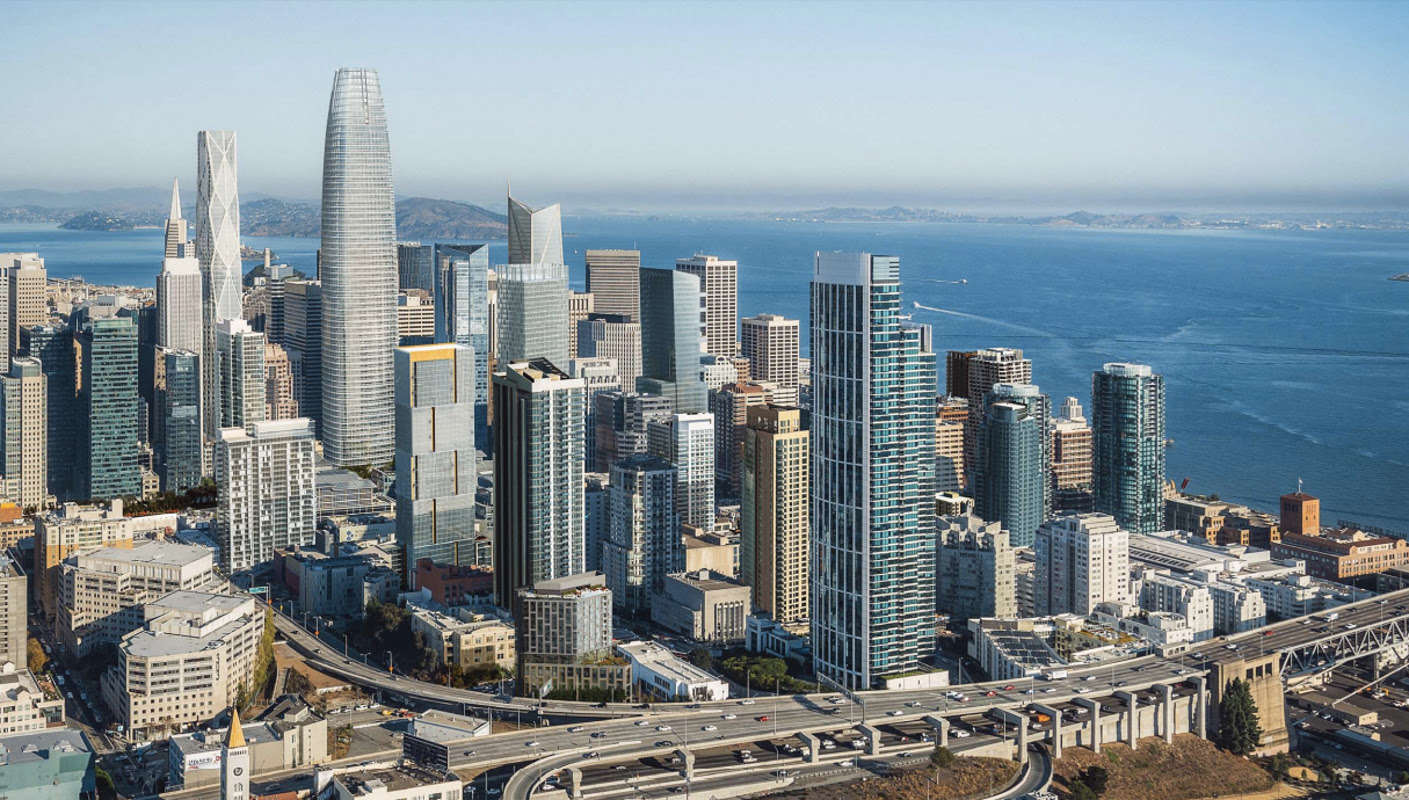 Image result for san francisco skyline 2016
