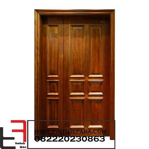 Pintu Rumah Kayu Jati Paling Bagus - Desain Dekorasi Rumah