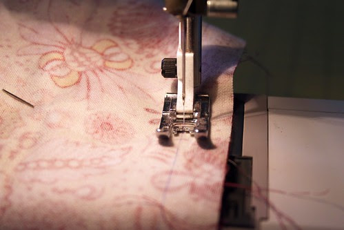 "sew along 1/2"" seam mark"