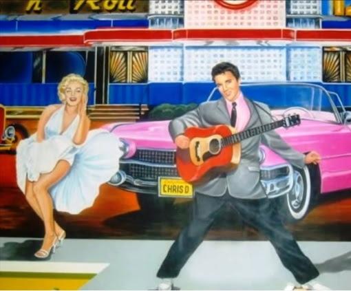 Elvis Presley And Marilyn Monroe Elvisblog