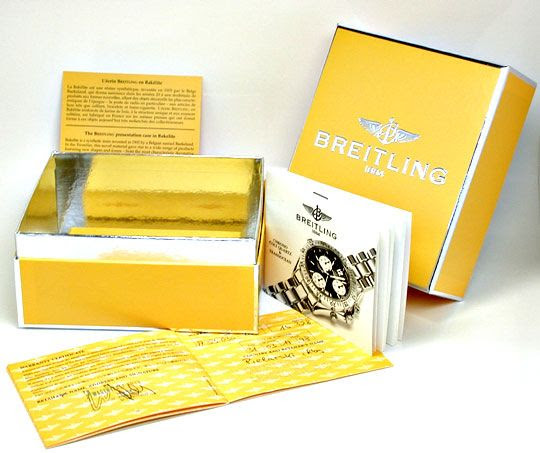 Original-Foto 6, BREITLING HR CHORNO COLT QUARZ FIGHTERBAND TOPUHR NEUZ.