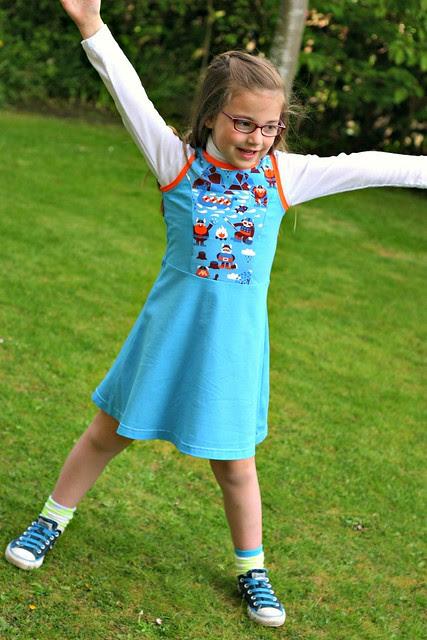 Princess seamed skater dress full 1