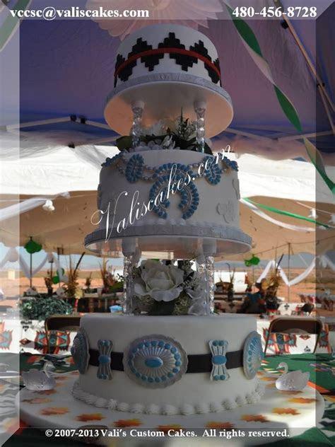 Navajo Wedding Cake   our signature design with Navajo