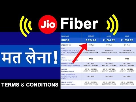 Reliance JioFiber launched
